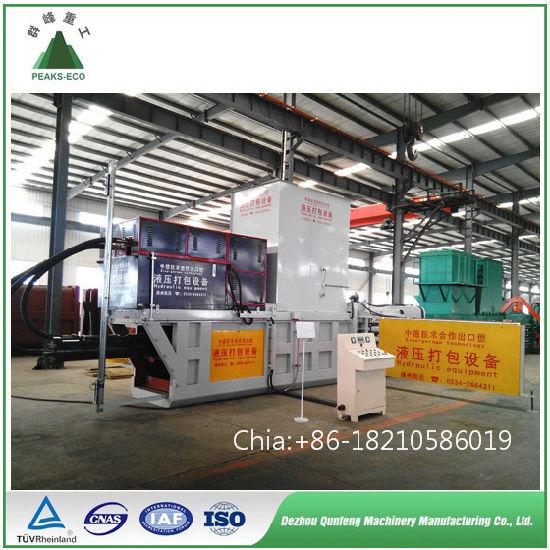 Waste Clothes / Paper/ Plastic Pressing Baler Machine