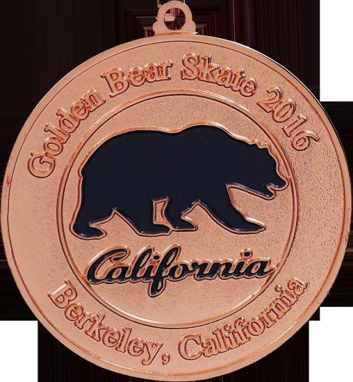 Hot Sale Custom Metal Marathon Running Award Gold Sports Medal