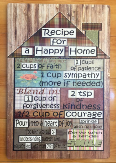 China Artistic Wooden Handicraft Wall Decor Wood Signs Wooden Plaque ...