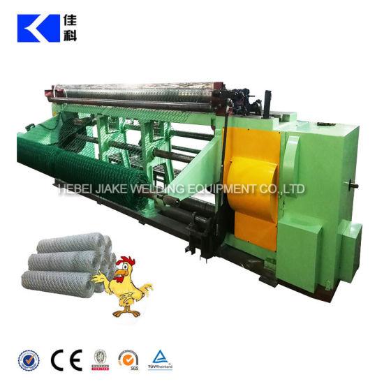 Reverse Twisted Hexagonal Wire Netting Machine China Supplier