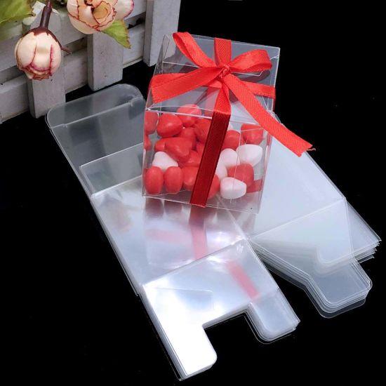 Custom Printing Clear PVC Pet Transparent Plastic Gift Box