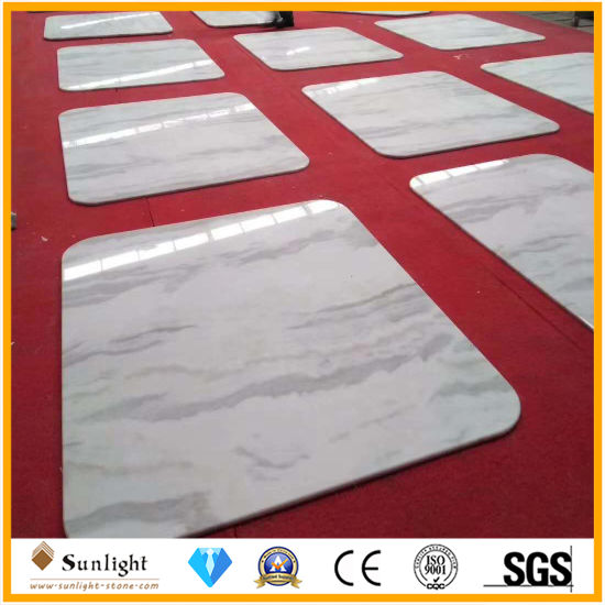 New Building Material Calacatta Star White Marble Tile for Flooring/Wall Decoration