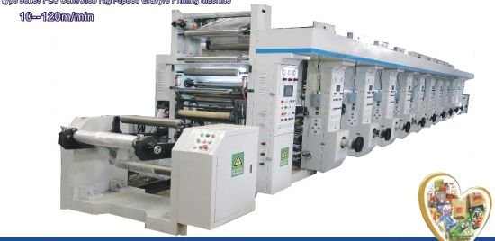 Computer High-Speed Rotogravure Printing Machine pictures & photos