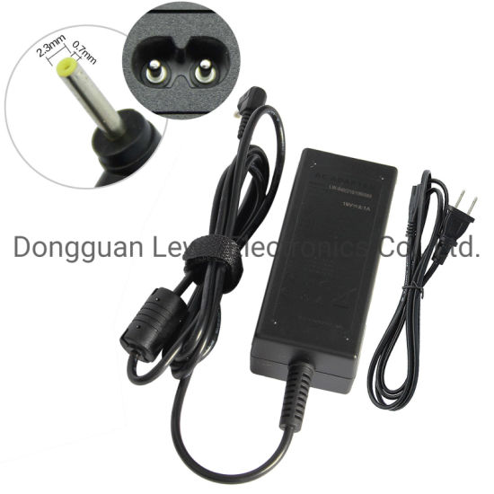 Wholesale Laptop Adapter 19V 2.1A 2.3*0.7mm DC AC Adapter Notebook Power Charger