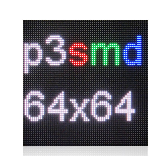 Good Price SMD2121 Indoor P3 LED Screen Panel P3 LED Module 192 X 192