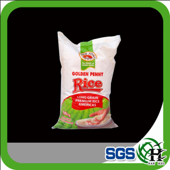 High Quality Factory Price Rice Bag PP Woven Bag Packing Bag pictures & photos