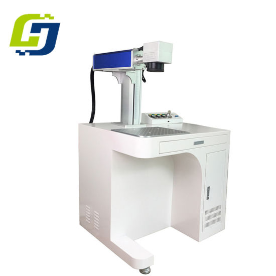 Aluminum and Plastic Promotion Pen Fiber Laser Marking Machine Marking Logo and Company Name for Sale pictures & photos