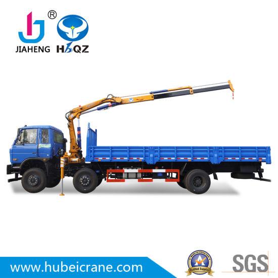 lifting capacity 3.2t homemade HBQZ mini knuckle boom truck mounted Crane SQ80ZB2 in India