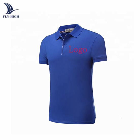 Men's Wholesale Personalised Cheapest T Shirt Custom Man and Women Polo Shirt