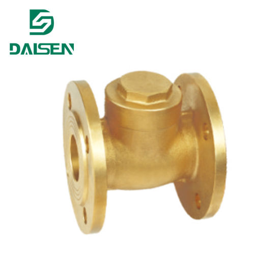 Copper Flange Check Valve with OEM ODM Service H44W-16t