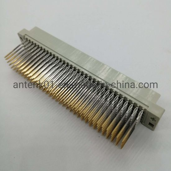 """Press Fit DIN41612 Connector Female 160 Pin Straight 160 Poles 5 Row Selective Gold 10u"""""""