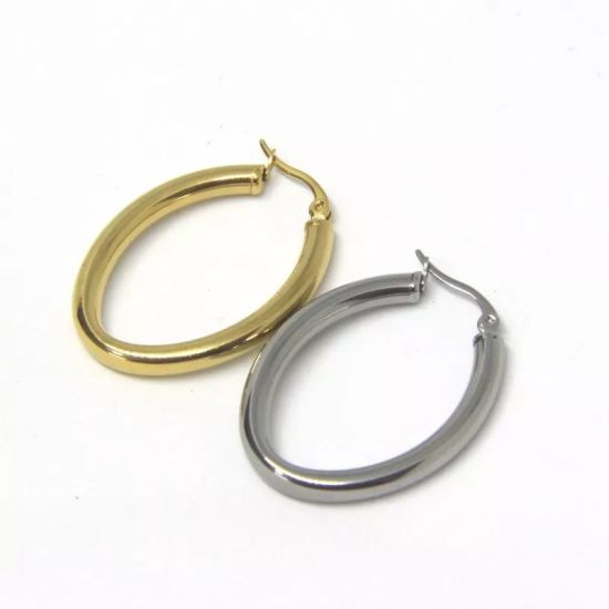 China Smooth Circle Earrings