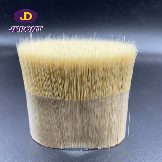 Synthetic Filament Mixed Natural White Bristle Manufacturer pictures & photos