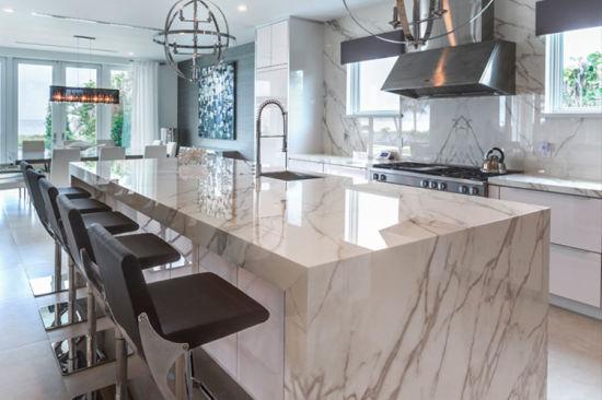 China Imported Calacatta Gold Kitchen Countertops China Marble Wall Cladding Natural Stone