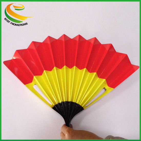 Noise Marker Folding Fan Paper Clappers Banner Hand Clappers for Sport Events pictures & photos
