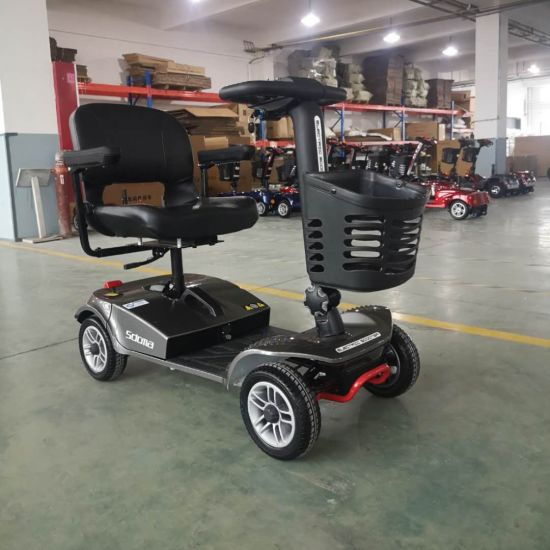 4 Wheel Electric Mobility Scooter 500W for Handicapped pictures & photos