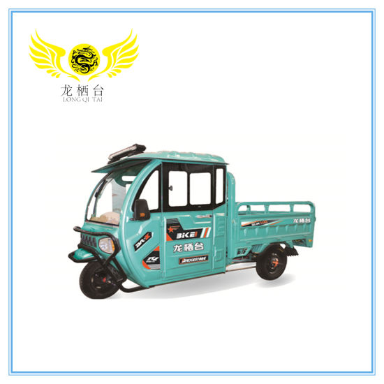 Electric Closed E-Rickshaw for Cargo / Colsoed Driver Cabin E Rickshaw