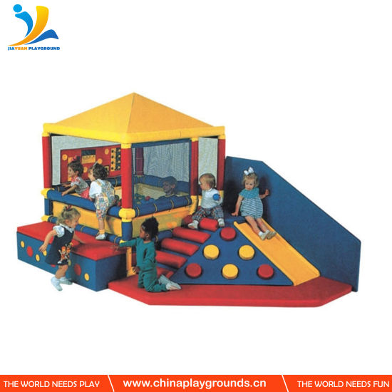 Baby Colorful Kids Indoor Play Equipment Plane Shape Soft Play