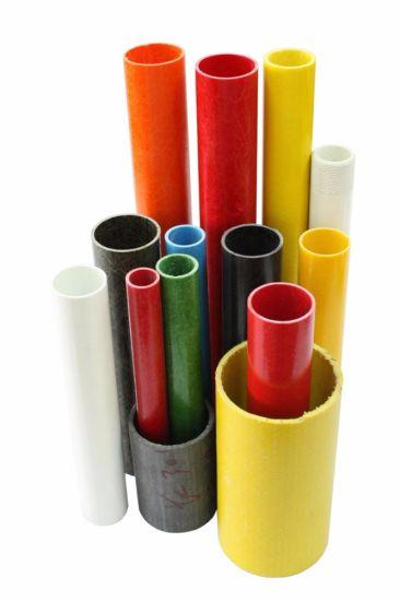 High Strength Fiberglass/Carbon Fiber Epoxy Reinforced Round FRP Tube/Pipe