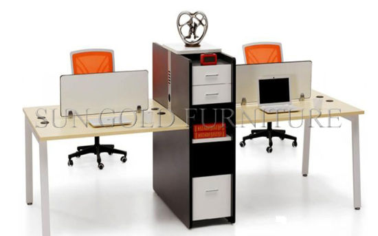 Hot Sale 2 Person Office Workstation (SZ-WS110-1) pictures & photos