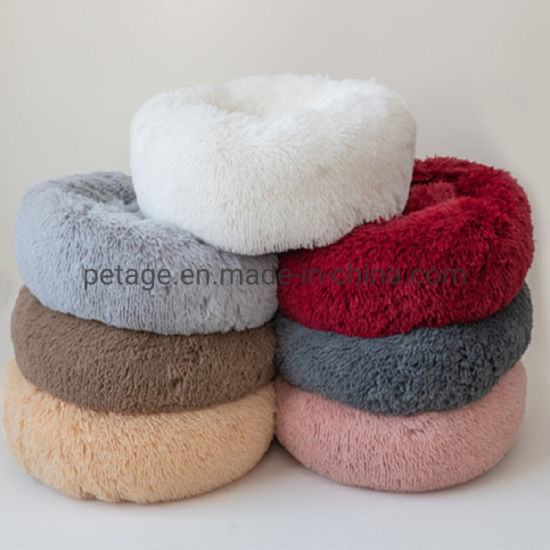 Supply Long Plush Winter Cat Dog Beds Home Pet Products
