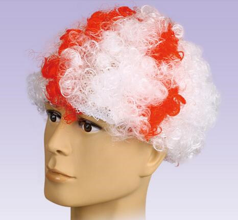 Fans Wig/ Soccer Wig/ World Cup Wig