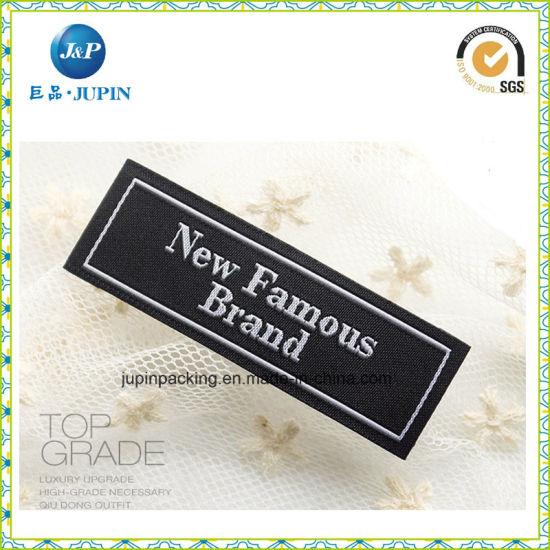 High Density Woven Label for Garment, Bag, Shoes (JP-CL027)