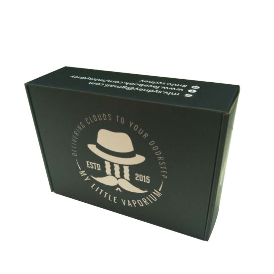 Custom Corrugated Cardboard Gift Carton Box For Clothing Packaging