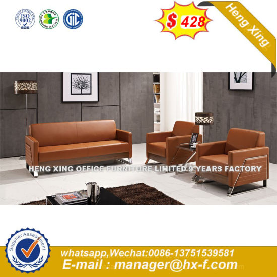 Modern Sectional Sofa Office Waiting Room Couch (HX-S312)