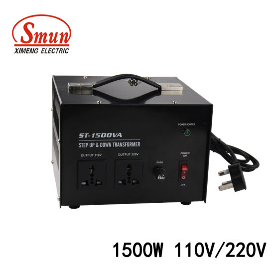 1500W Step up and Down Transformer 110V/220V for Solar Panel pictures & photos