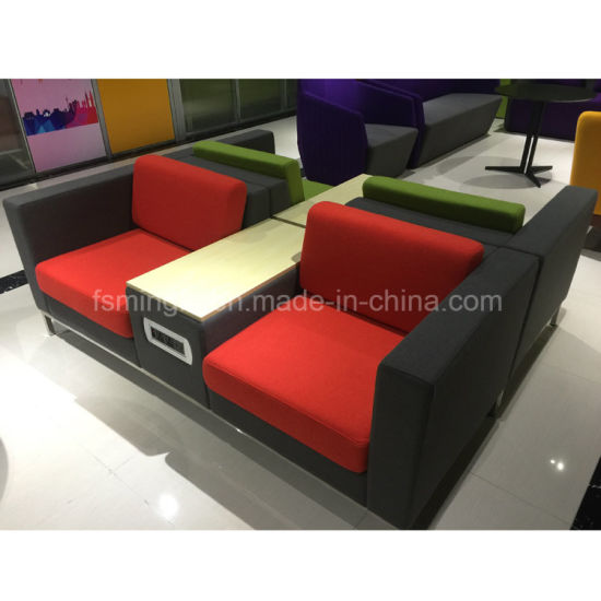 Enjoyable Leisure Sofa With Middle Tea Table For Public Waiting Reception Area Machost Co Dining Chair Design Ideas Machostcouk