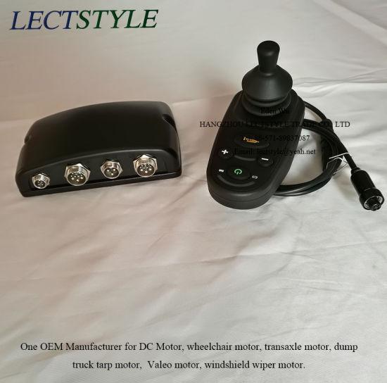 China Wheelchair Motor Controller & Joystick on DC Brushless
