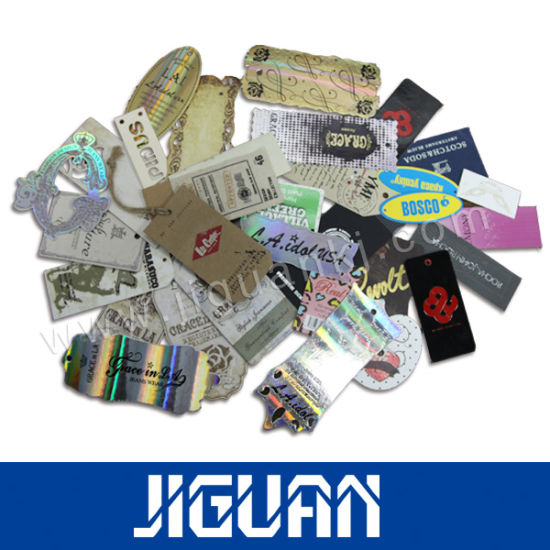 Lowest Price Custom Clothing Paper Hang Tags Made in China pictures & photos