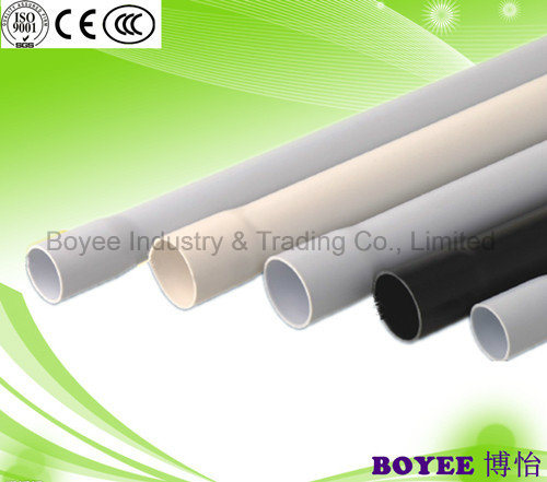 Different Color PVC Electrical Cable Conduit Pipe with Socket End