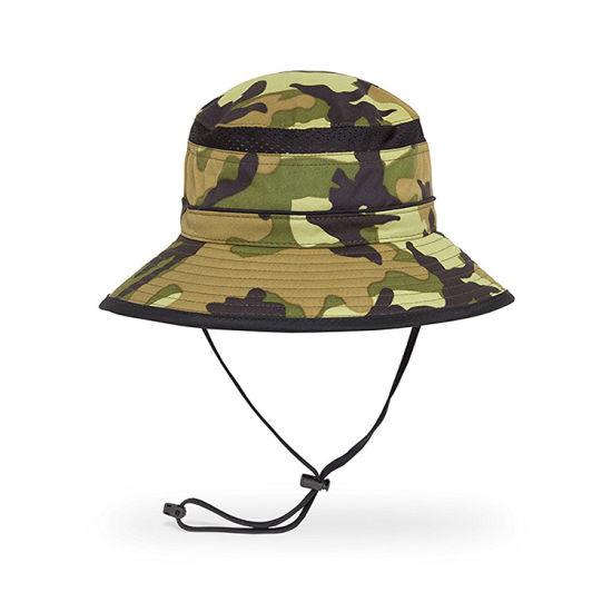 bf540443eb8 Mens Summer Cotton Embroidery Visor Bucket Hats Fisherman Hat Outdoor  Climbing