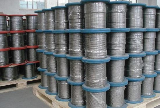 SS316 1*19 Stainless Steel Rope Certificate ISO 9001 Manufacture pictures & photos