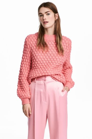 Women Fashion Heavy Winter Sweater Clothes with Jackquard Knitting