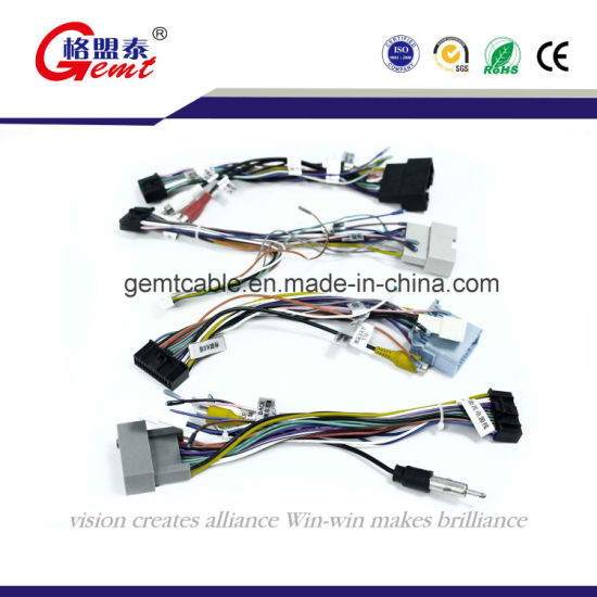 china factory car audio wire harness with high quality china auto rh gemtcable en made in china com