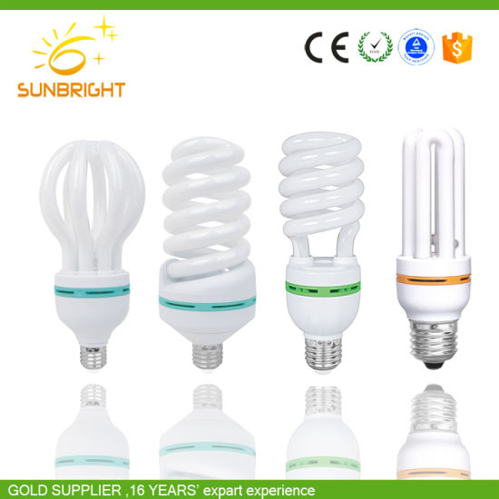 Hot Sale CE Half Spiral Energy Saving Lighting pictures & photos