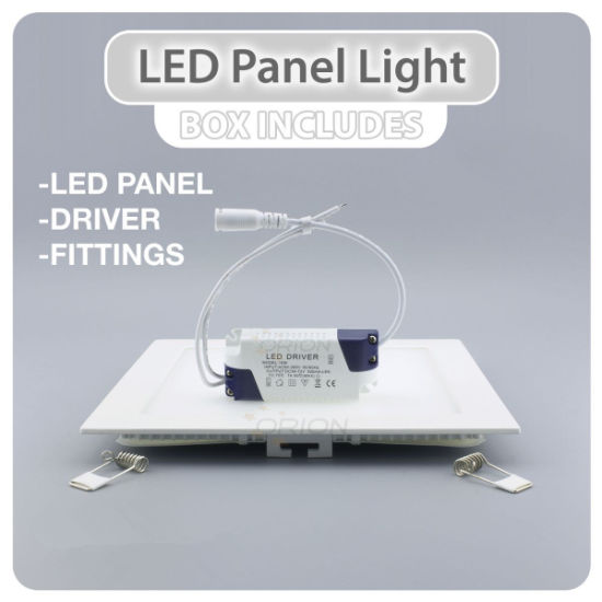 High Brightness Slim Square 18W Panel LED Light pictures & photos