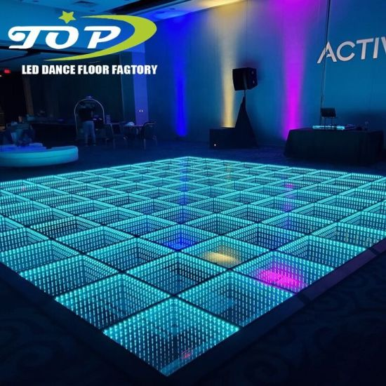 Banquet Hall 3D LED Video Light up Dance Floor Tiles