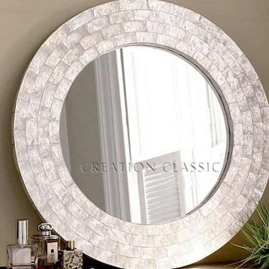 Silver Bathroom Mirrors Image Of