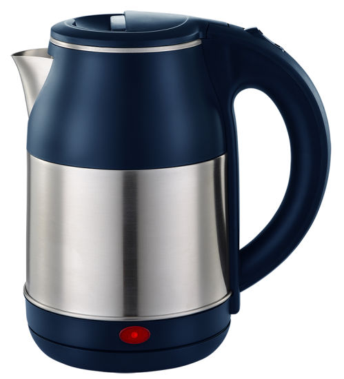Dark Blue Color Good Quanlity Stainless Steel Electric Kettle with Fast Heater