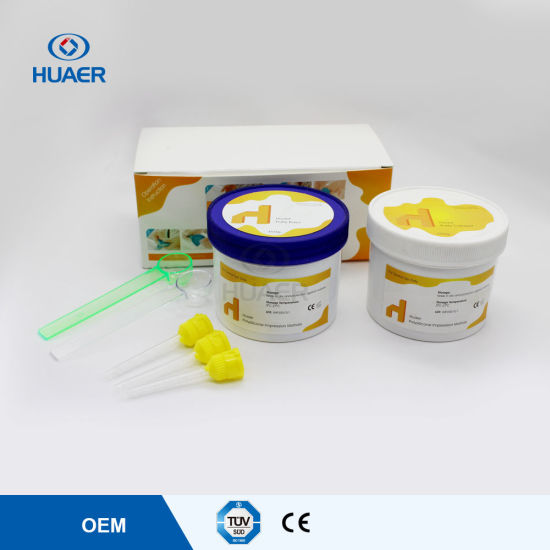 Food Grade Stable Super Dental Silicone Impression Material Putty pictures & photos