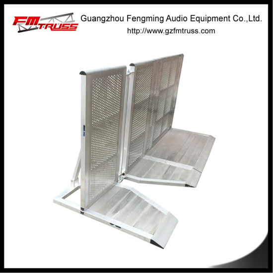 Aluminum Metal Barricade for Event Rental Usage pictures & photos