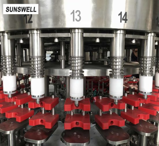 Sunswell PE Bottled Dairy Products with Aluminum Foil Sealing Machine pictures & photos