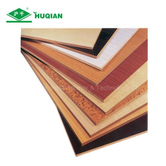 China Standard Size Melamine Faced Hdf Mdf 1220x2440x2 5mm
