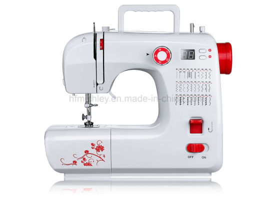 China Factory Cloth Tailor Garment Domestic Electric Mini Household Sewing Machine (FHSM-702)