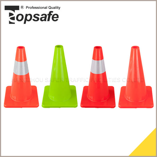 30cm 45cm 70cm 90cm Flexible PVC Traffic Cone (S-1231) pictures & photos