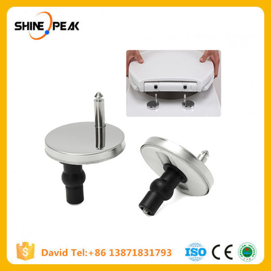 Pleasing 2Pcs Stainless Steel Toilet Hinges Top Fix Toilet Seat Hinge Alphanode Cool Chair Designs And Ideas Alphanodeonline